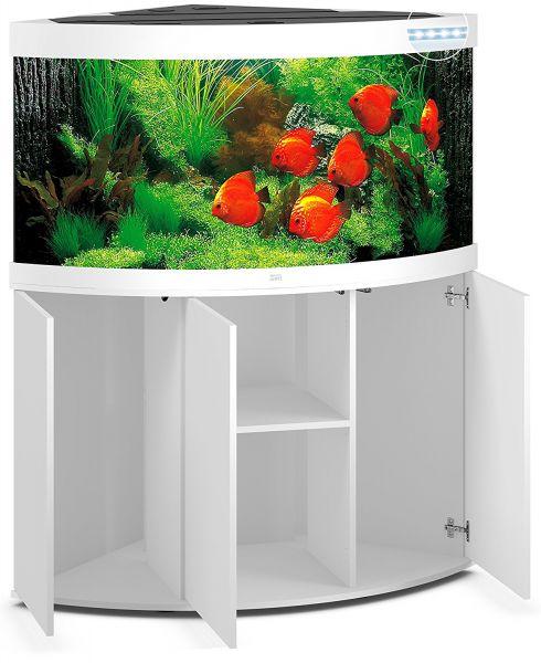 Aquarium Juwel Trigon 350 LED mit Unterschrank SBX weiss