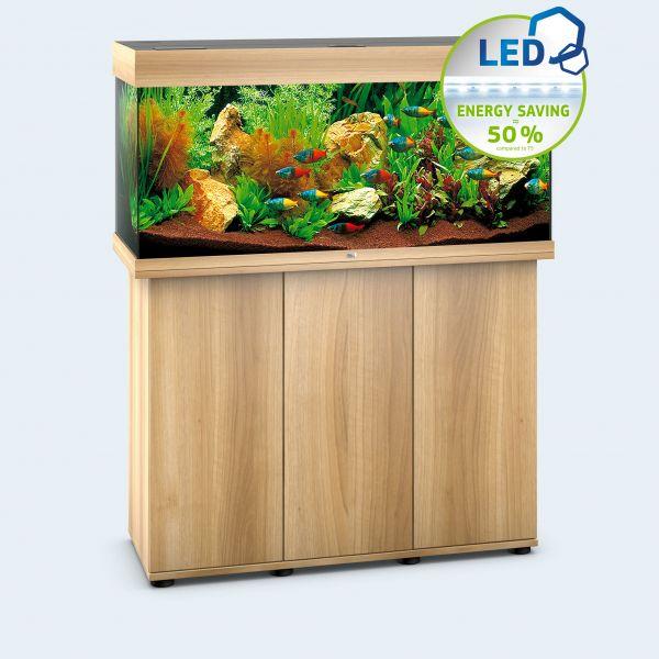 Juwel Aquarium Rio 180 LED inkl. Unterschrank helles Holz