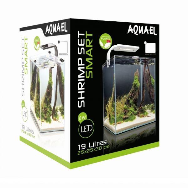 Aquael Aquarienset für Garnelen und Schnecken 1