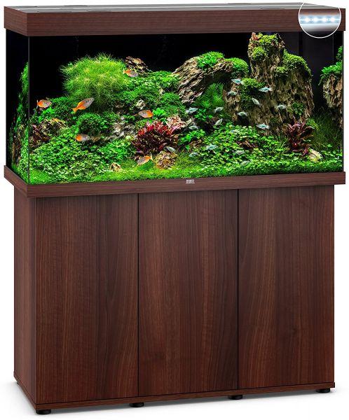 Juwel Rio 350 LED dunkles Holz 1